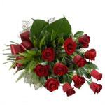 Bouquet of long stemmed roses