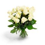 Custom White Roses Bouquet