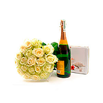 White roses & Gifts
